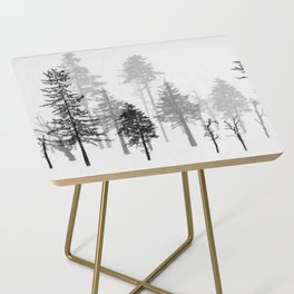 Dark and Deep Side Table