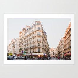 Sunset in Saint-Germain - Paris Photography Art Print