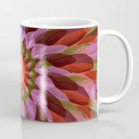 cyberpunk Mugs featuring Falling Bloom by Obvious Warrior