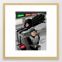 Ludicrous Speed Spaceballs Framed Art Print