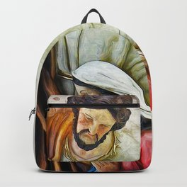 Joseph Mary and Jesus Backpack