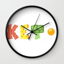 4 Pillars of Ketosis Wall Clock