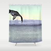 predator Shower Curtains featuring Predator by anipani