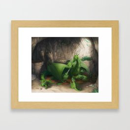 Preoccupied Progenitor Framed Art Print