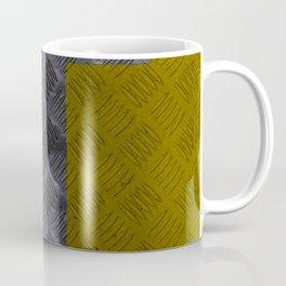 Industrial Arrow Tread Plate - Up Coffee Mug