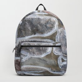 Stone wall colour 4 Backpack