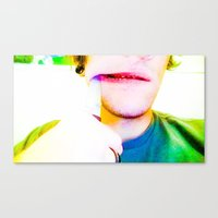 hello beautiful Canvas Prints featuring Hello Beautiful by Travis Hess