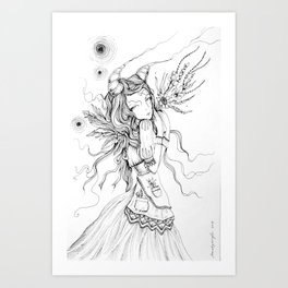 Intra Universum Art Print