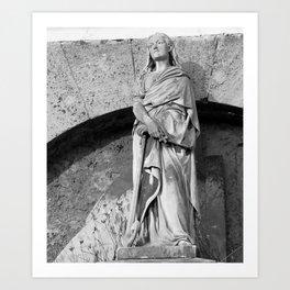 female statue Art Print