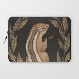 The Chipmunk and Bay Laurel Laptop Sleeve