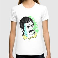 swanson T-shirts featuring Ron Swanson.  by The Half Guava
