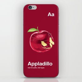 Aa - Appladillo // Half Armadillo, Half Apple iPhone Skin