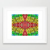 cross Framed Art Prints featuring Cross by Bruce Stanfield