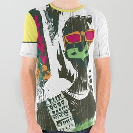 DeWayne All Over Graphic Tee