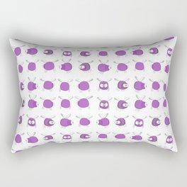 Purple Bug Rectangular Pillow