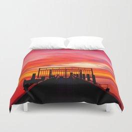 Gated Sunset Duvet Cover