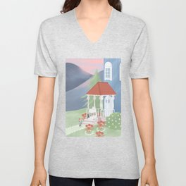 Spring in Moominvalley Unisex V-Neck