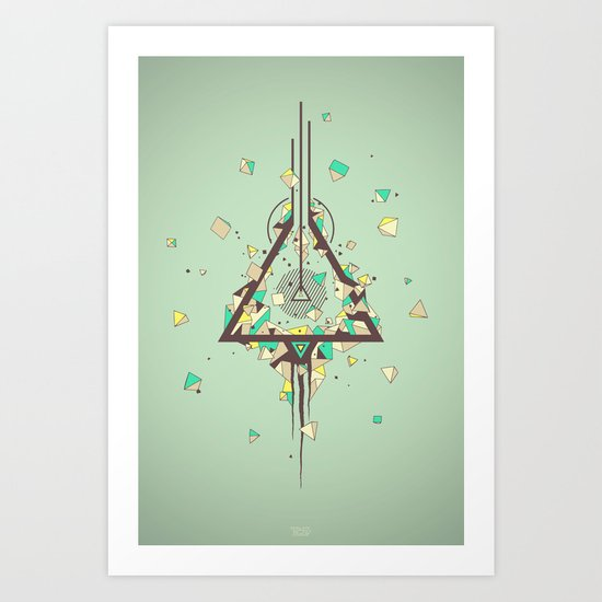 Discovering Higgs Boson Art Print