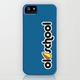 OLDSCHOOL v1 HQvector iPhone Case