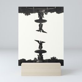 Winged Fountain Mini Art Print