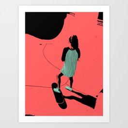 S. K. 01 Art Print