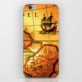 map sea iPhone Skin