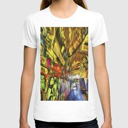London Graffiti Van Gogh T-shirt