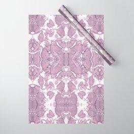 Shibori Rose Crepe De Chine Wrapping Paper