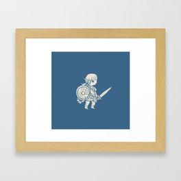 botw pattern Framed Art Print