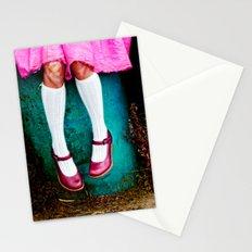 I am so girly Stationery Cards