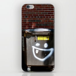 happy dumpster. iPhone Skin