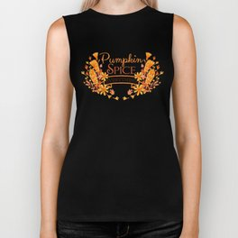 Pumpkin Spice Everything Biker Tank