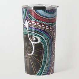 a little swirl  Travel Mug