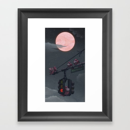 A Time to Rest Framed Art Print