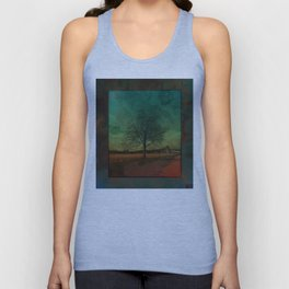 The Surface of Solitude-Effort Unisex Tank Top