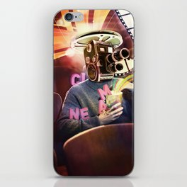 Cinema Poster iPhone Skin
