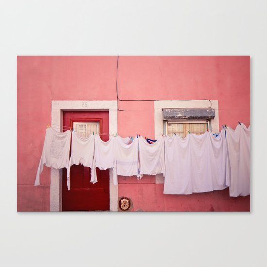 number 75 Canvas Print