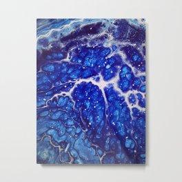 Synapse Blues Metal Print