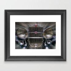 V 16 Framed Art Print