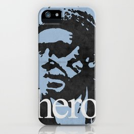 Charles Bukowski - hero. iPhone Case
