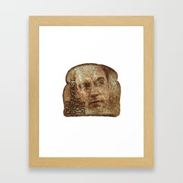 dave toast Framed Art Print