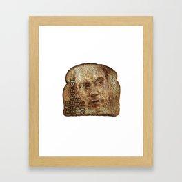 dave toast Framed Art Print