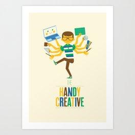 The Handy Creative Art Print