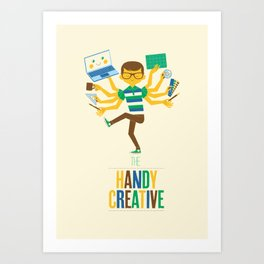 The Handy Creative Art Print