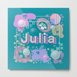 Julia Metal Print