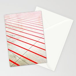 Lines on Track  Stationery Cards