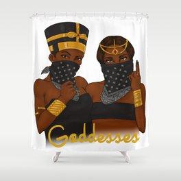 Goddesses Shower Curtain