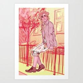 Jean Prouvaire Art Print