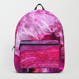 pink agate Backpack