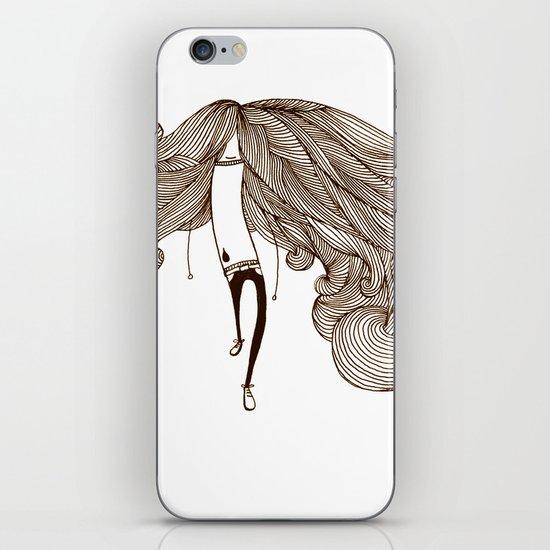 Big Hair Day iPhone & iPod Skin